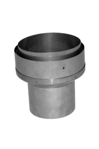 "5"" to 6"" adapter: flue to liner"
