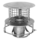 "6"" diameter Chimney Cowl (Stainless Steel)"